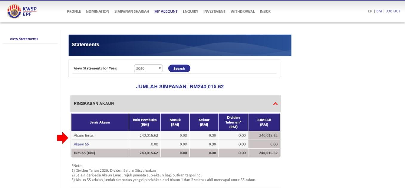 Maklumat Umum Epf I Invest Melalui I Akaun Principal Asset Management